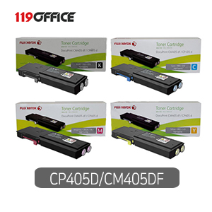 정품토너 제록스 CT202033 CT202034 CT202035 CT202036 대용량 DocuPrint CM405DF CP405D